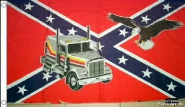Rebel Truck & Eagle